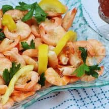 Peel and Eat Shrimp #shrimp #seafood #gulf #southernfood