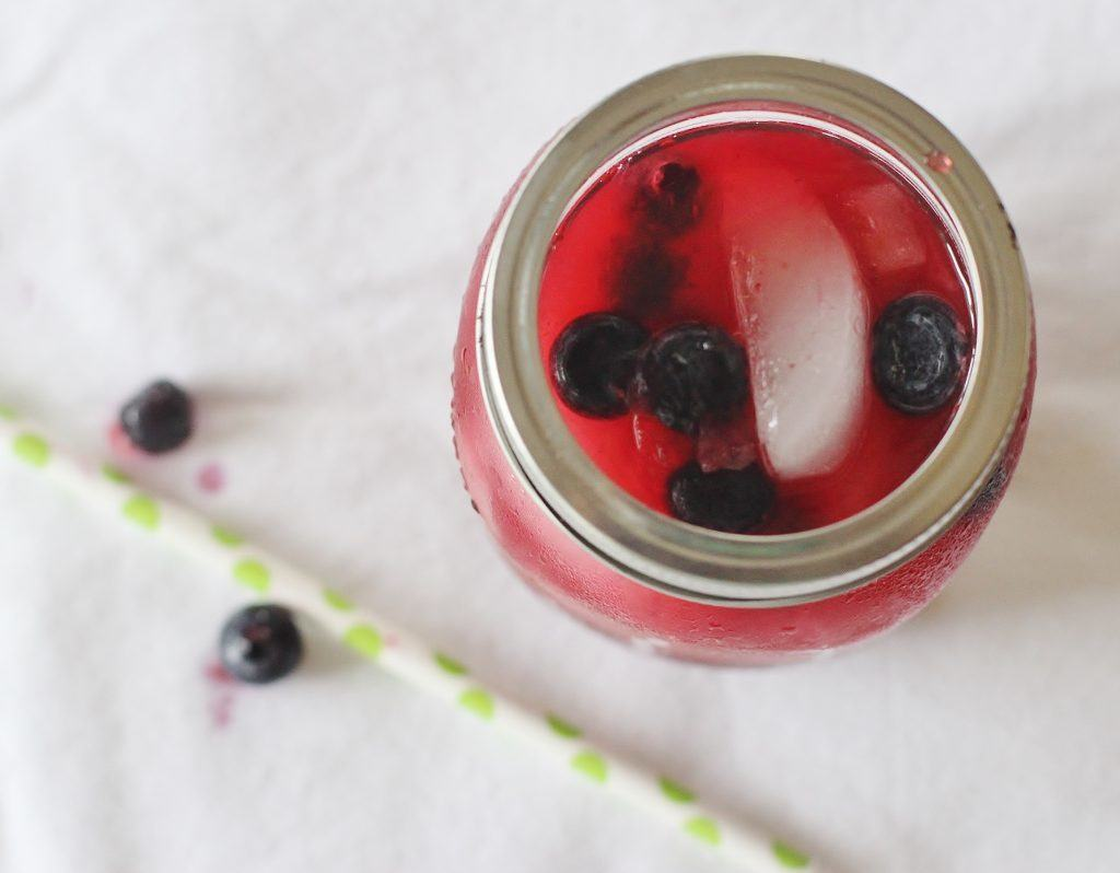 Blueberry Lemonade. Fresh squeezed lemonade with added blueberry purée makes a refreshing and delicious beverage.