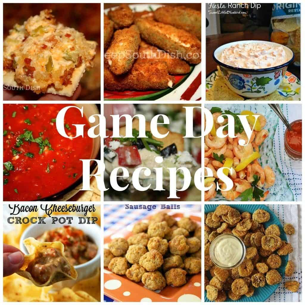 Game Day Recipes. 17 easy favorites for game day.