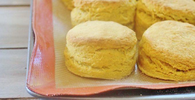 Pumpkin Pie Biscuits