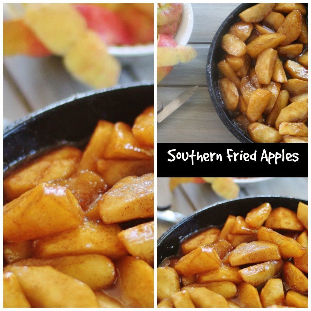 Southern Fried Apples.