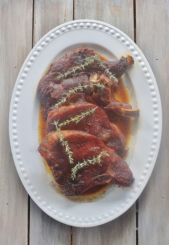 Slow Cooker Brown Sugar Pork Chops