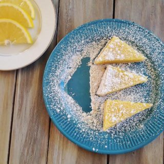 Lemon Bars. Sweet and tangy soft Meyer lemon cookie bars with a shortbread crust.
