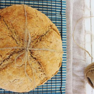Irish Soda Bread. A traditional version contains only four ingredients: flour, salt, buttermilk, baking soda.