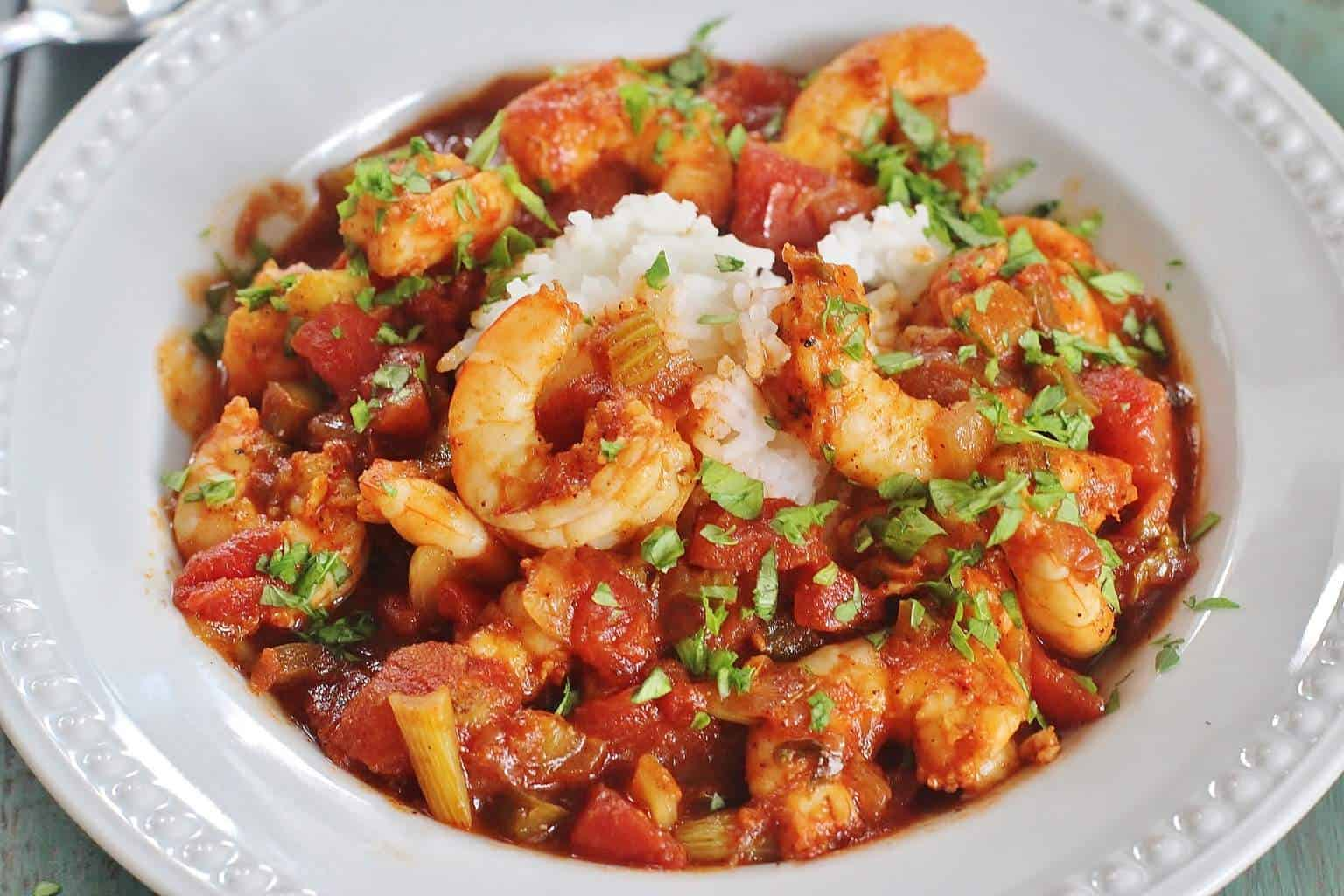Shrimp Creole | Syrup and Biscuits