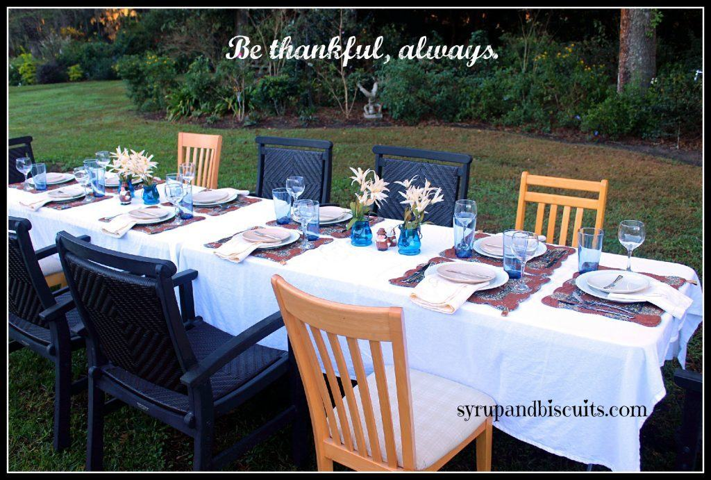 Melissa, Mary and Jackie wish you grateful hearts, filled plates and an extra helping of love at Thanksgiving.