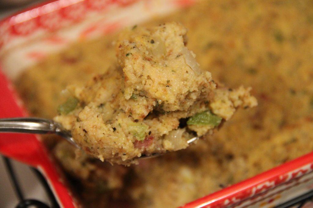 Cornbread Sage Dressing with Gravy/Deep South Dish