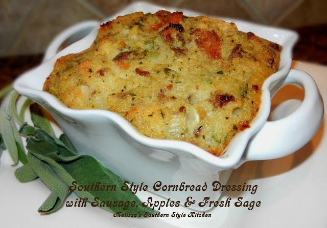 Cornbread Sage Dressing/Melissa's Southern Style Kitchen