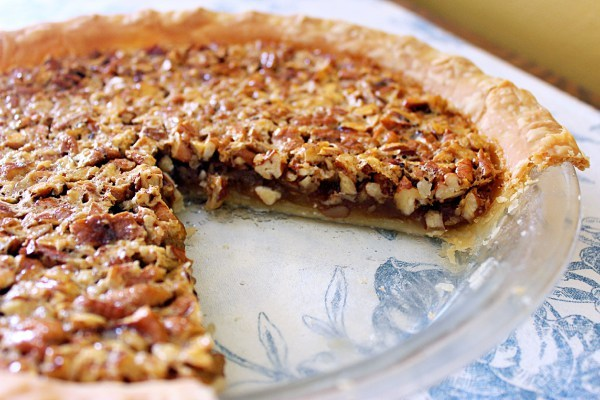 Aunt Bea's Classic Southern Pecan Pie/Syrup and Biscuits