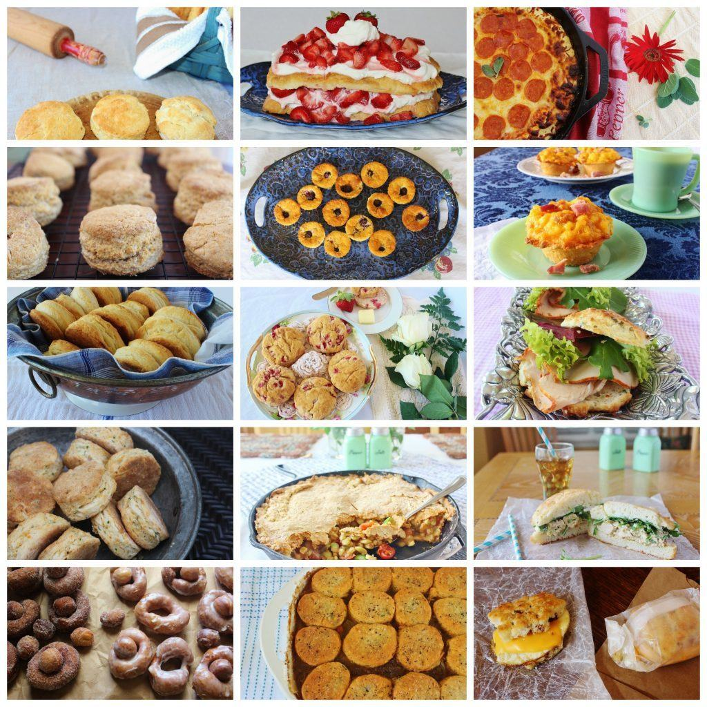 food photos collage