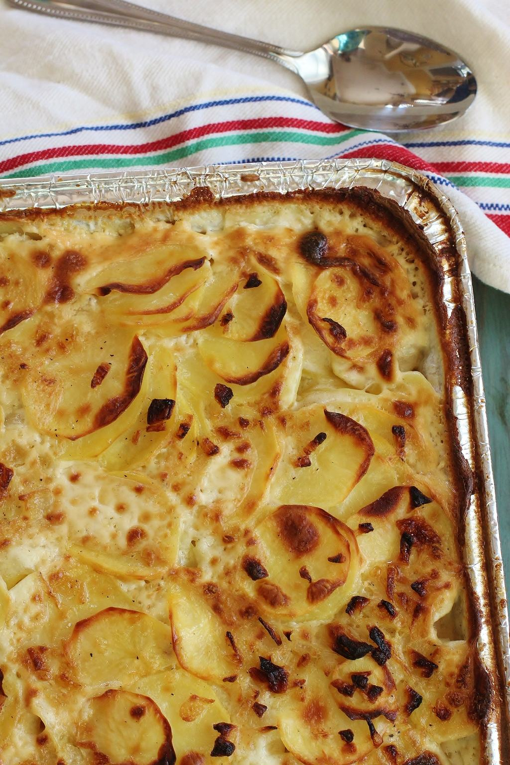 Buttermilk Scalloped Potatoes