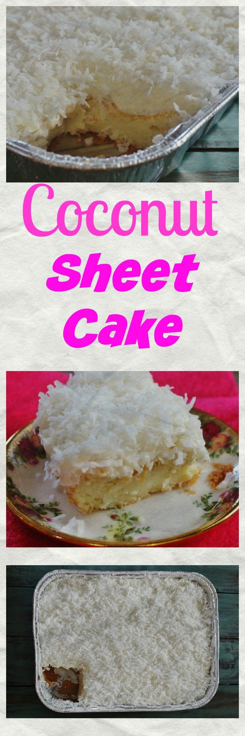 So, I made an easy Coconut Sheet Cake.I made a sheet cake instead of a layer cake for ease of serving. #MoistCake #CoconutCake