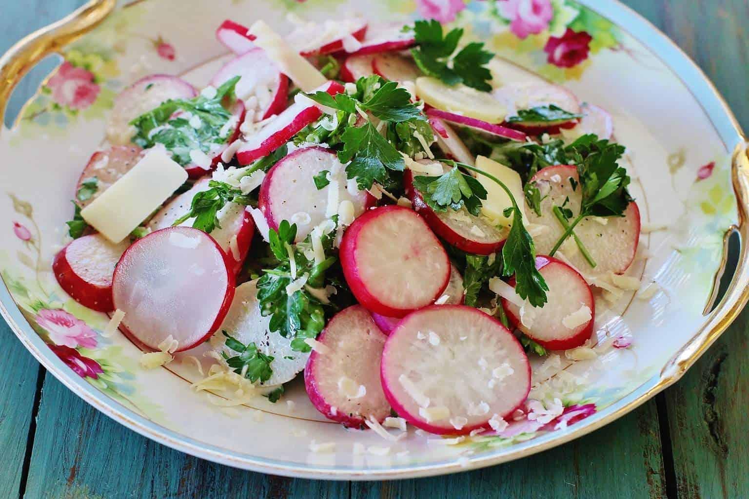 Easter Egg Radish Salad