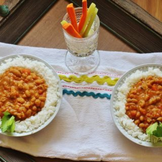 Stewed Navy Beans
