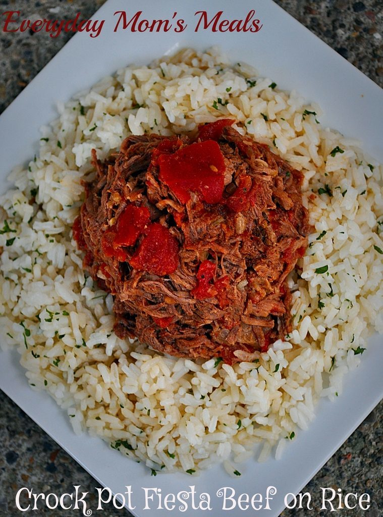 fiesta beef on rice