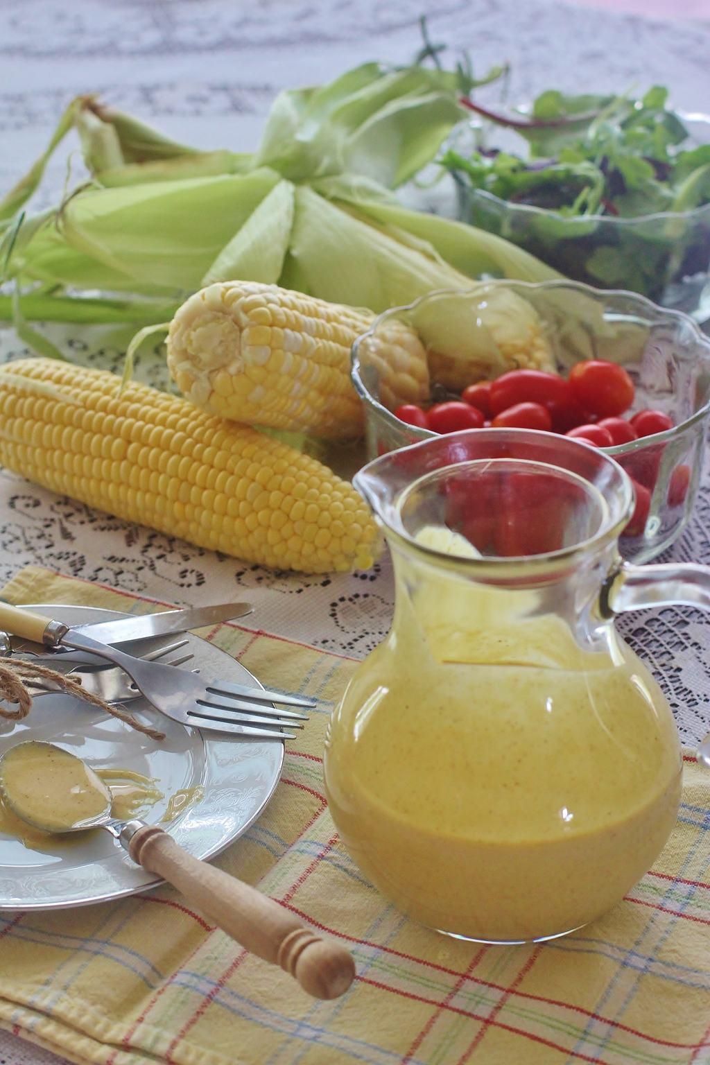 Country Honey Mustard Salad Dressing