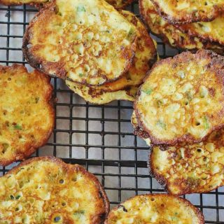 Potato and Pea Fritters