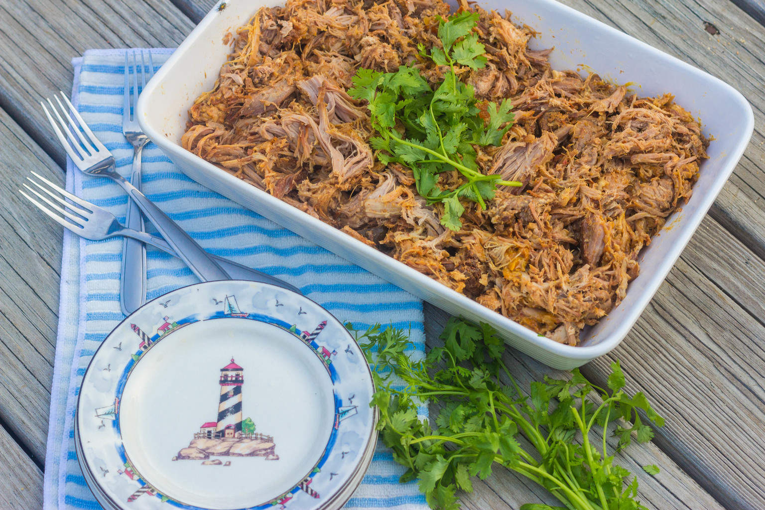 Slow-Cooker Beach House Pulled Pork