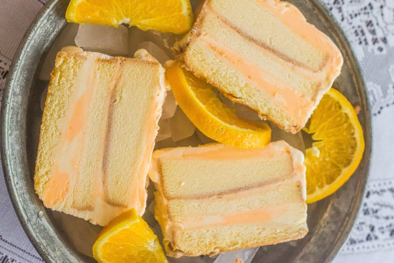 orange sherbet cake recipe