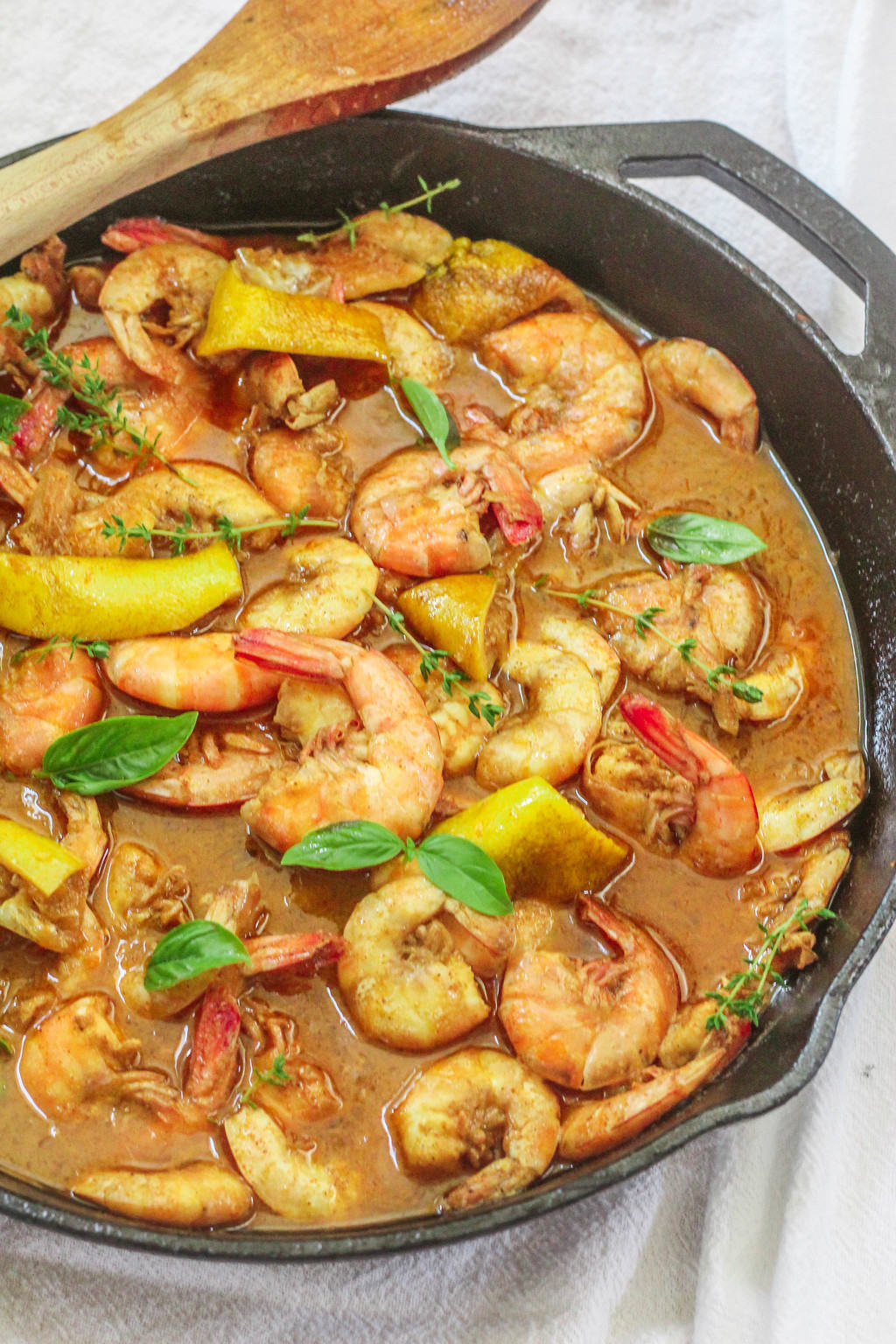 Southern-Style Barbecued Shrimp Recipe — Dishmaps