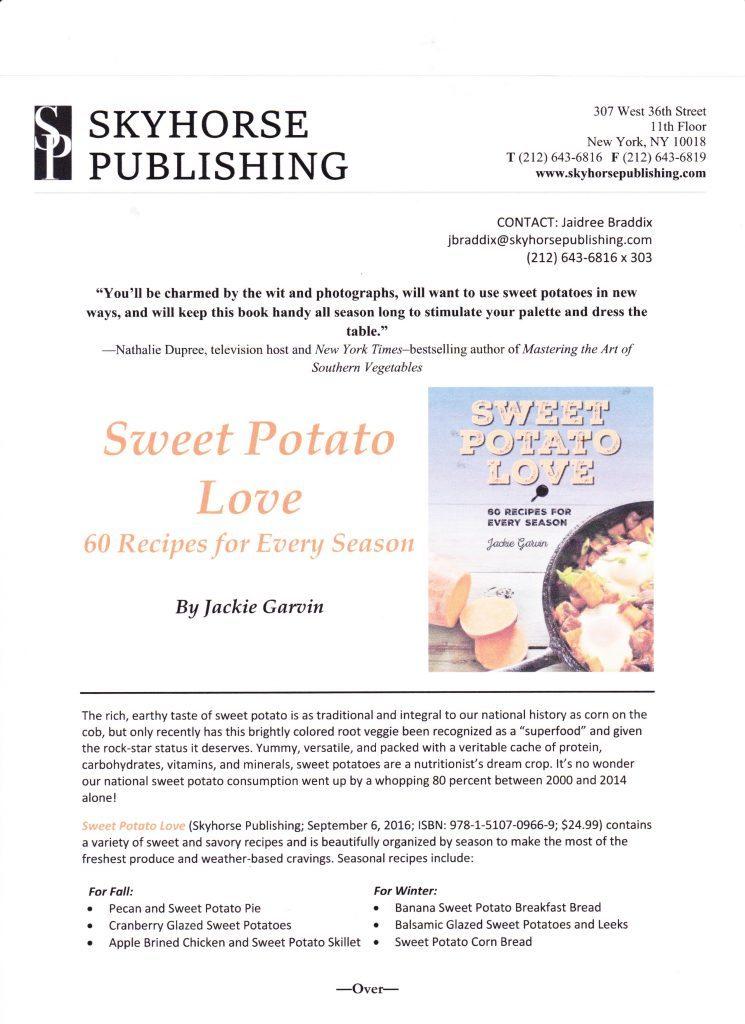 Sweet Potato Love by Jackie Garvin