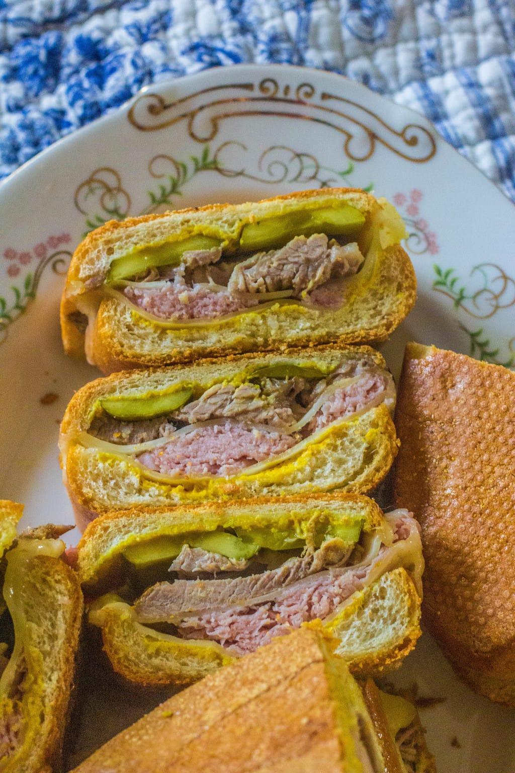 Authentic Cuban Sandwich Ybor City-Style