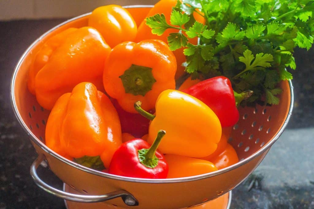 Sweet Bell Peppers #freshfromflorida #ad