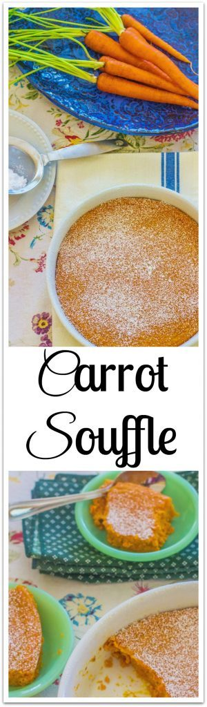 Carrot Souffle. Sweetness from carrots and brown sugar is balanced by tanginess from buttermilk. An updated version of a Southern Living classic recipe published 12/2001.