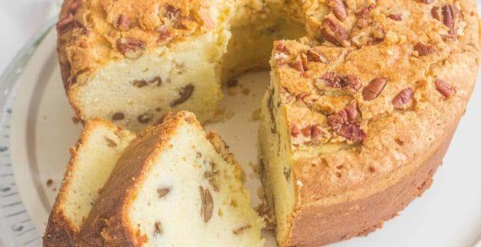 Southern Pecan Buttermilk Pound Cake