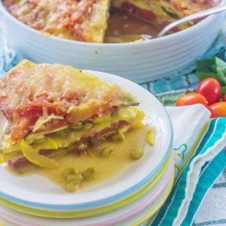 Southern Summer Vegetable Casserole. Favorite southern summer vegetables (tomatoes, yellow squash, zucchini, sweet onions) layered with fresh herbs and cheese.