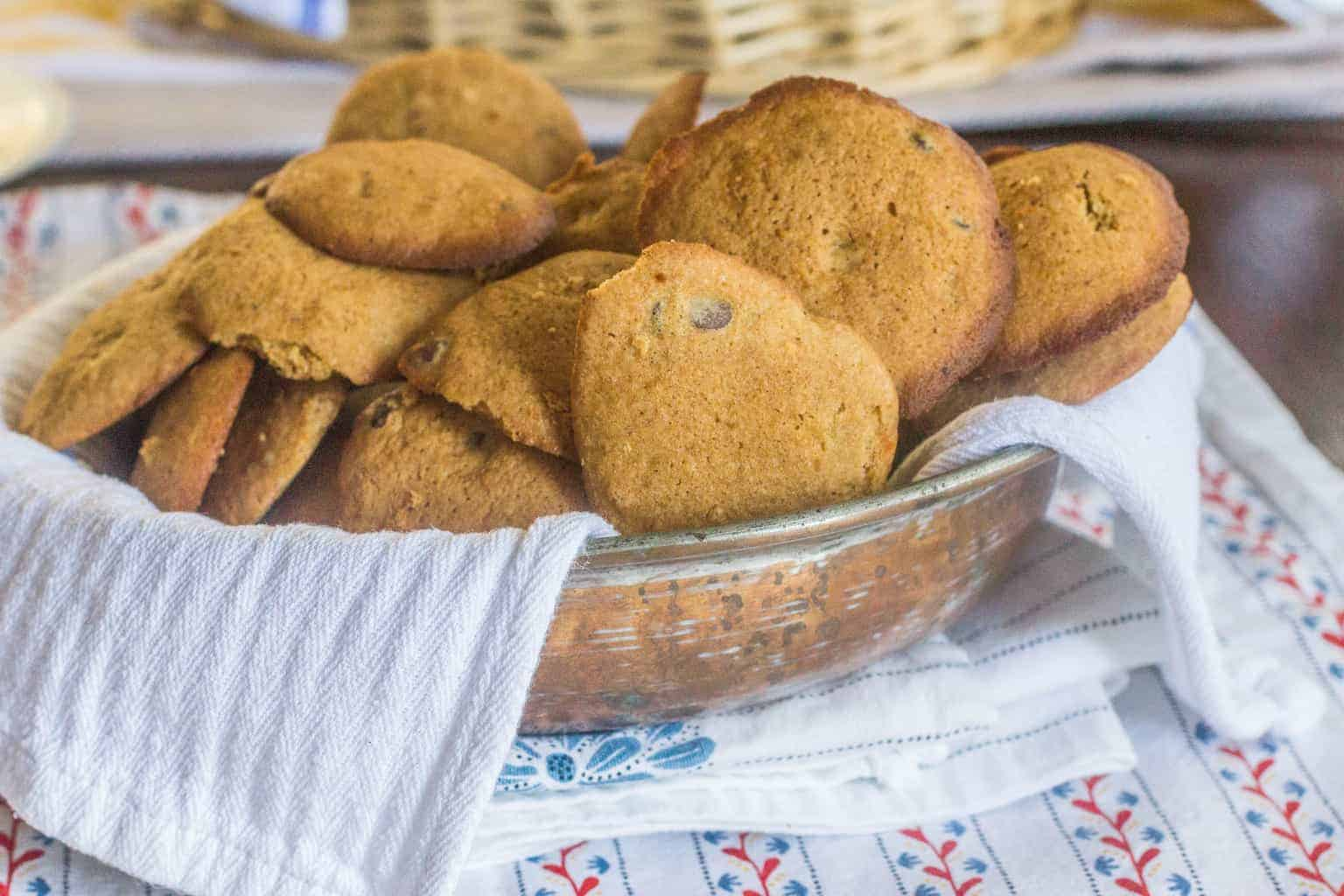Sweet Potato Chocolate Chip Cookies