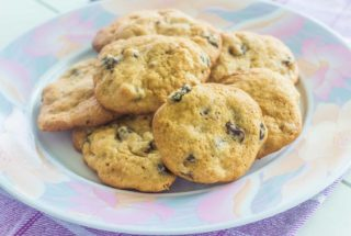 Vintage Raisin Cookies. A soft, buttery cookie loaded with plump raisins. Circa 1940s recipe.