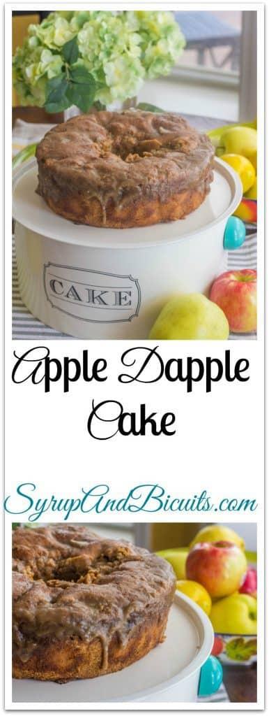 Apple Dapple Cake on plate