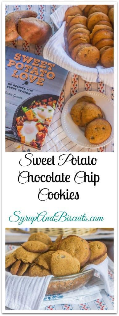 Sweet Potato Chocolate Chip Cookies. Sweet potatoes and warm spices team up with chocolate chips for a crowd pleasing cookie.
