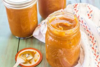 Slow-Cooker Sweet Potato Apple Butter. Sweet potatoes and apples combined with brown sugar, maple syrup, and spices and cooks overnight in the slow-cooker.
